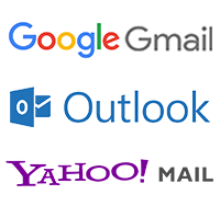 gmail outlook yahoo